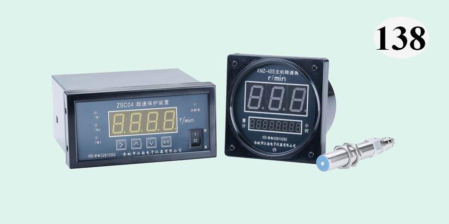 ZSC04型超速保护装置,配XMZ-42S主机转速表,配M18×1转速传感器